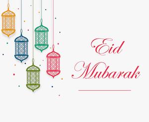 Eid greeting - English 6
