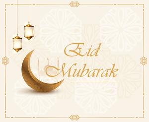 Eid greeting - English 5