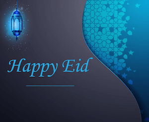 Eid greeting - English 3